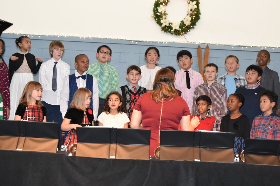 Metropolitan Junior Academy Photo - The annual Christmas Program is a favorite for students and the proud parents/grandparents.