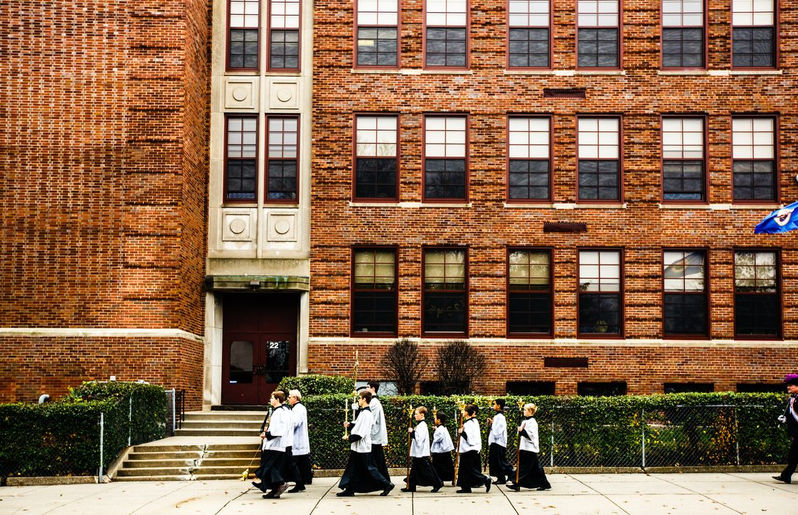 Saint Agnes School Photo - Rooted in the Catholic intellectual tradition and the sacramental life, our school seeks to instill in students a desire to know, love and serve God in this life and the next.