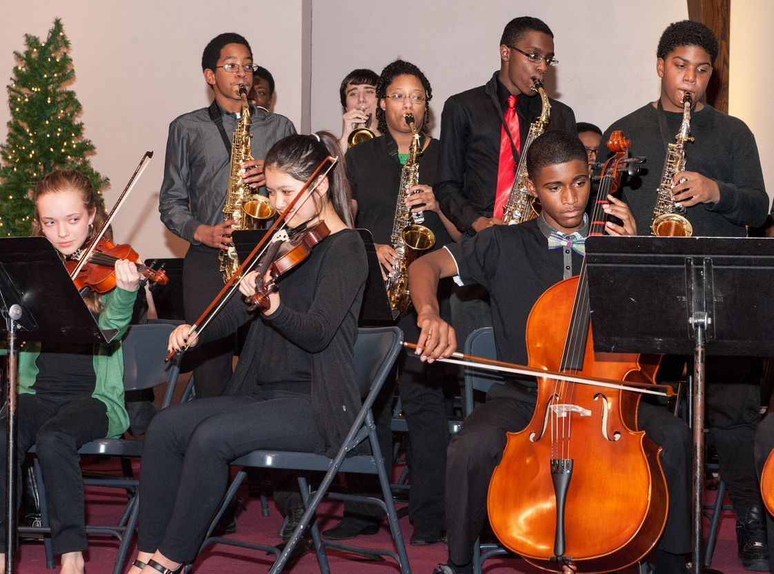 North County Christian School Photo - Orchestra, string ensemble and jazz band perform separately and together throughout the school year.