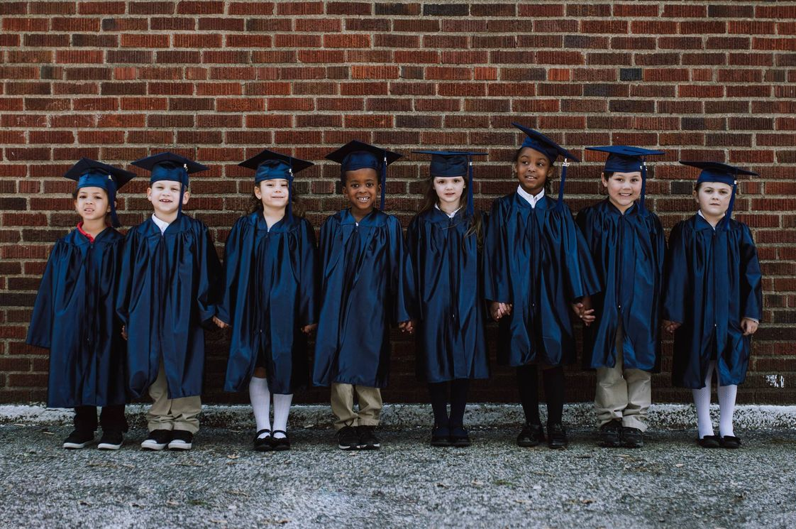 Outreach Christian Ed Photo - Kindergarten graduation!