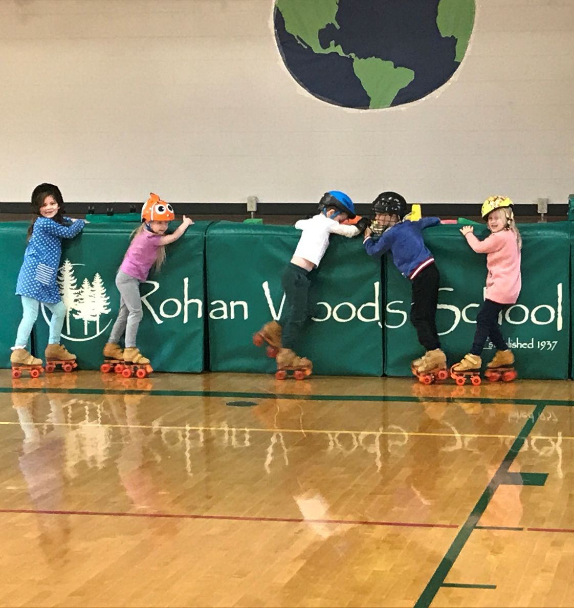 Rohan Woods School Photo - Whether learning to Roller Skate or tackling a Project in Senior Kindergarten, our students have an adventure every day.