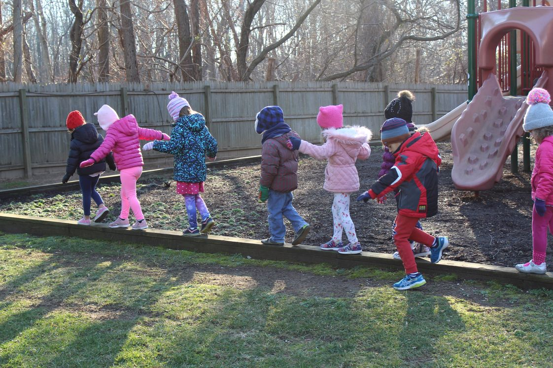 A Child S Place School Photo #1 - Outside time, rain or shine!