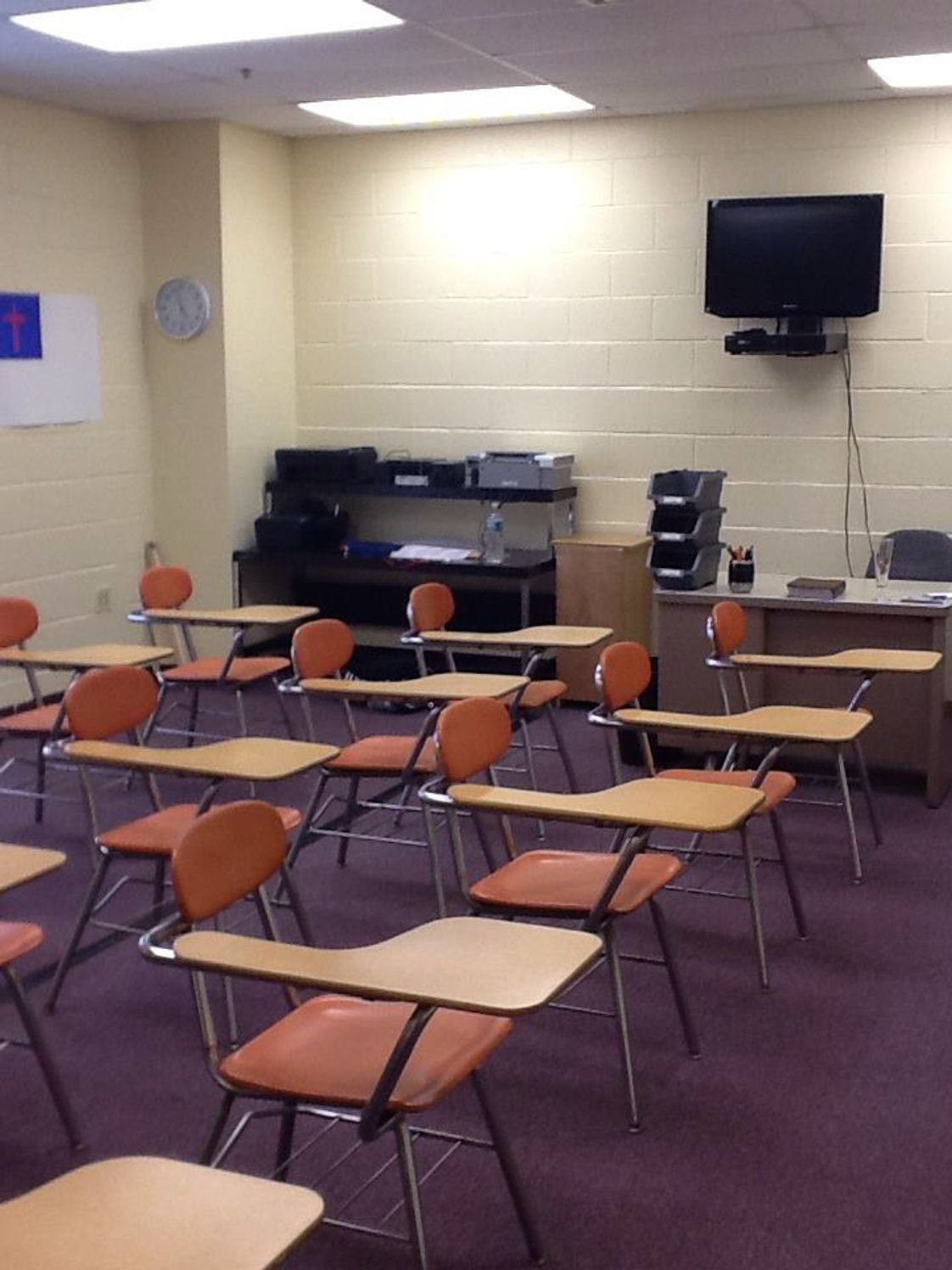 Beacon Christian Academy Photo #1 - Multipurpose Room for music, Spanish classes, music, art, technology and much more!