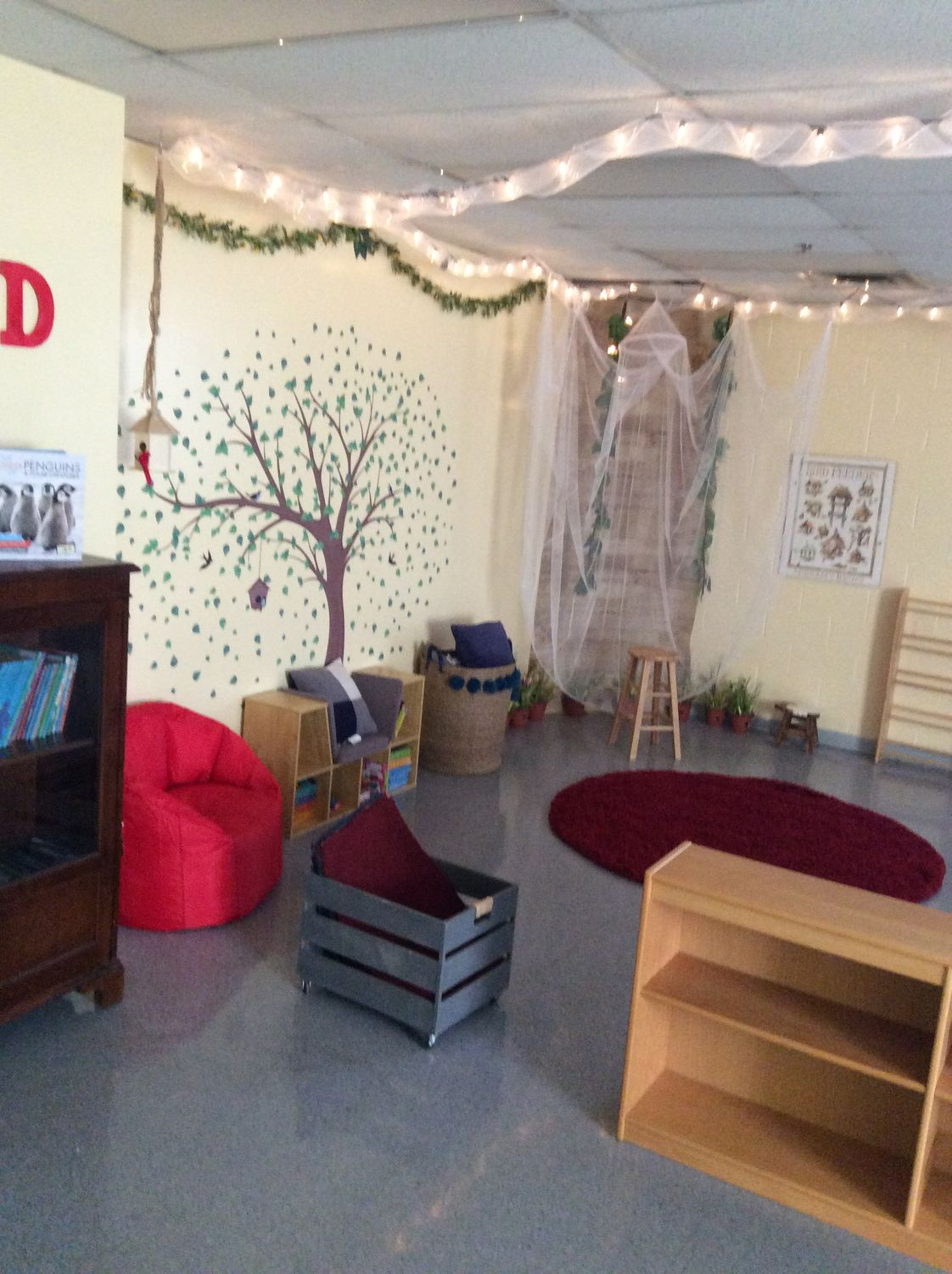 Beacon Christian Academy Photo - Welcome to our Cozy Children's Corner! Your young child will never want to LEAVE this enchanted place!