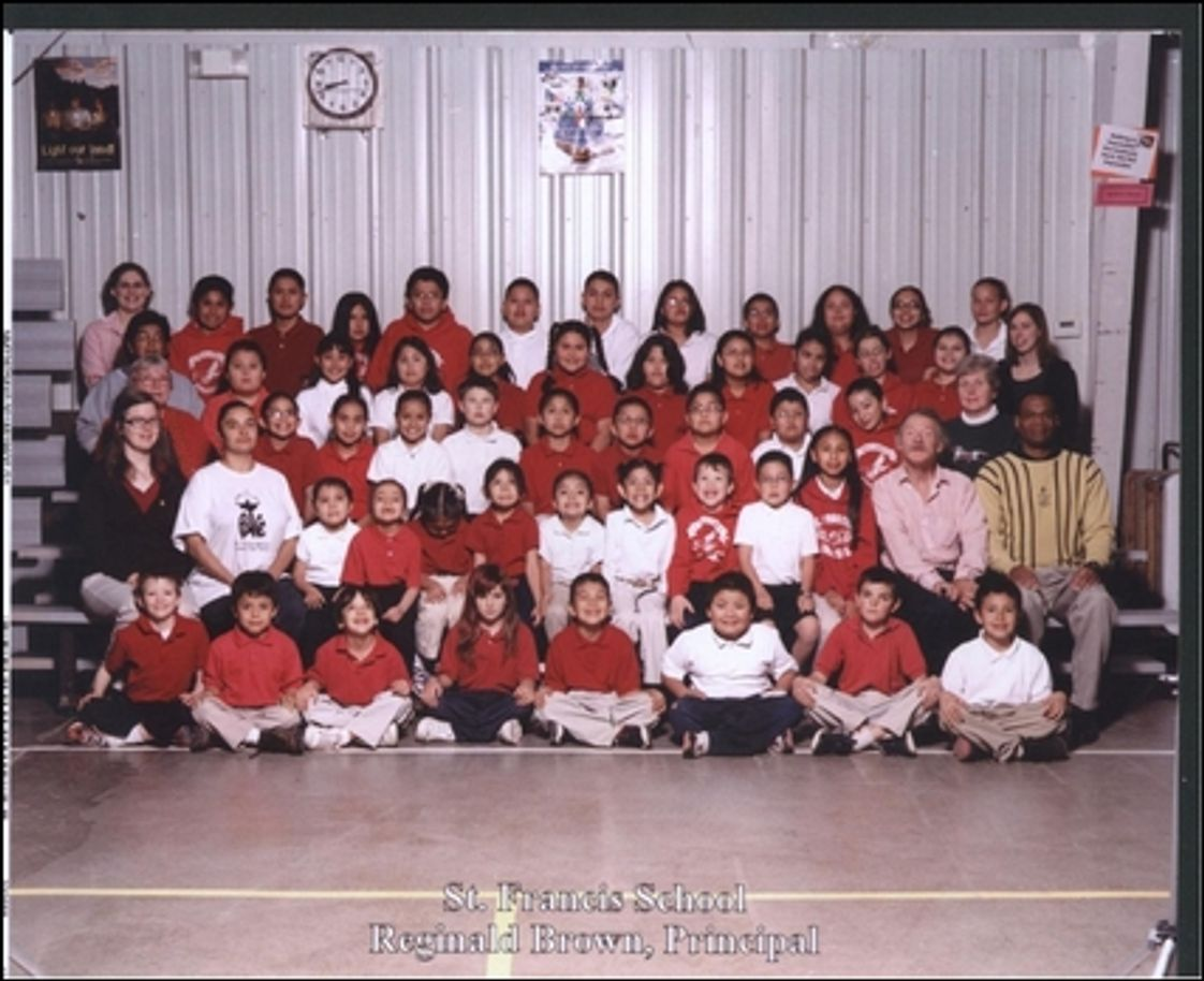 St. Francis Of Assisi School Photo - This is us: the good, the bad, the shy, the outgoing, the playful, the serious - clearly diversity at its best, but a great group of people.