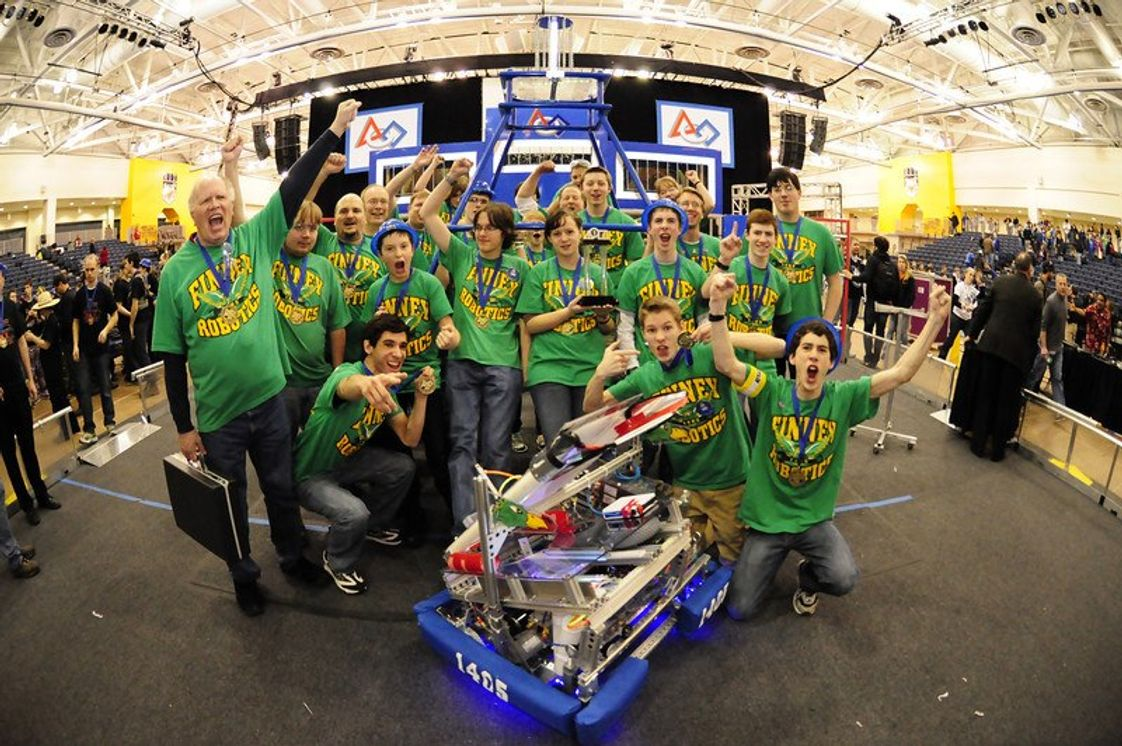 The Charles Finney School Photo - Finney Robotics Team Wins 1st Place at Regional Competition at RIT