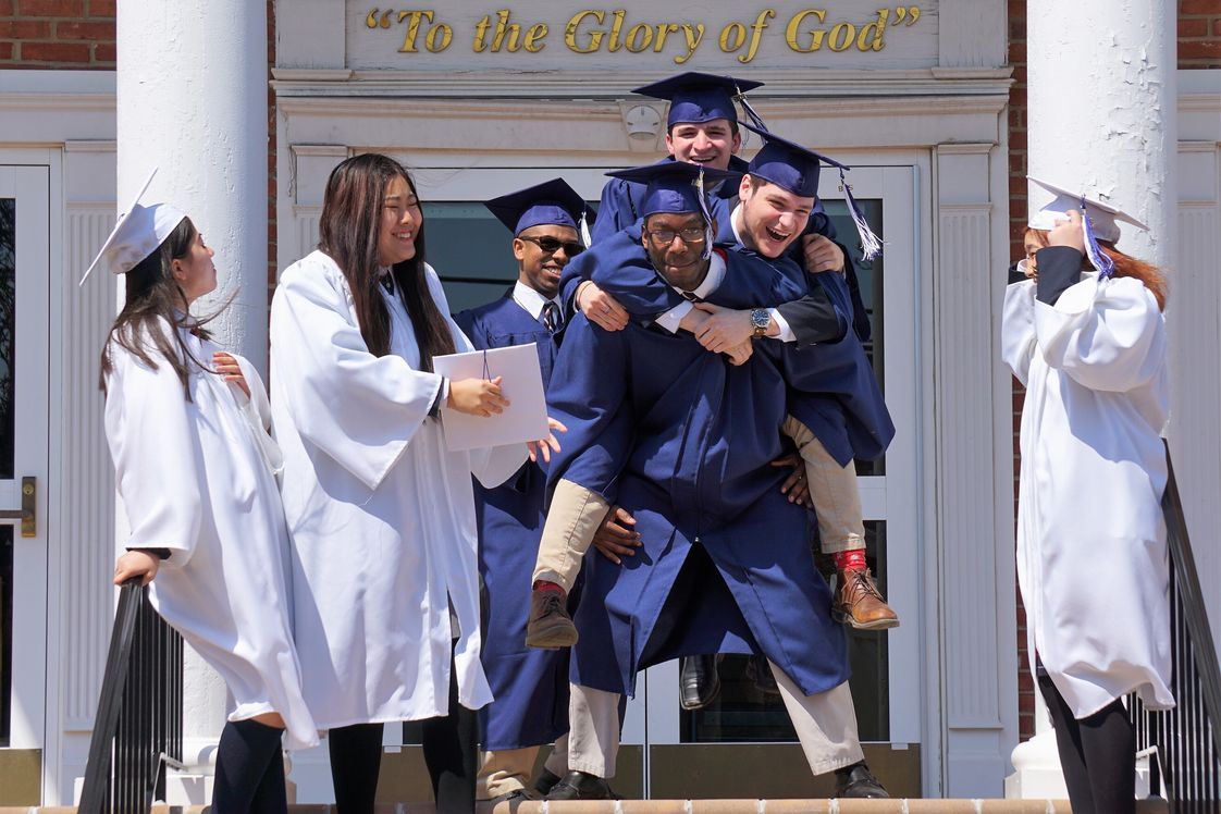 Grace Christian Academy Photo - With 100% graduation and 100% college/military acceptance, higher institutions of learning prefer our students because of their rigorous class schedule through graduation. They work hard, which makes playing hard all that more rewarding!
