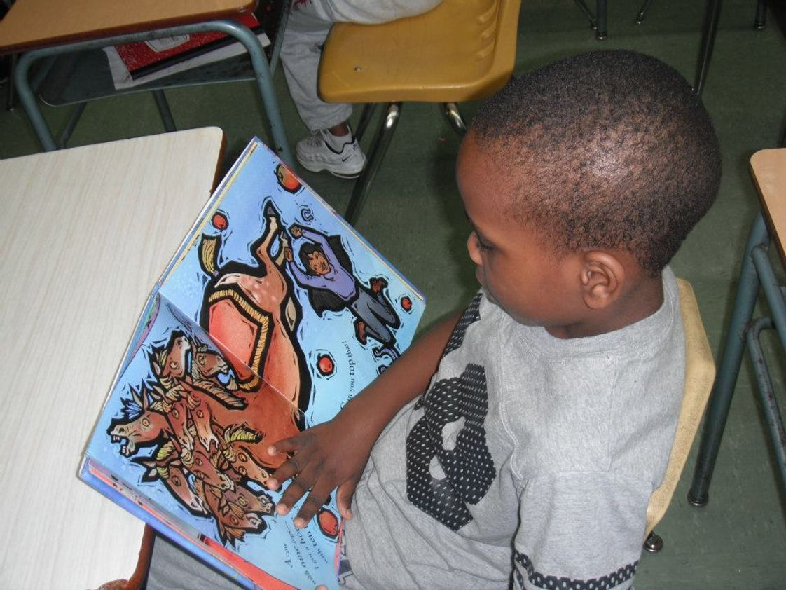Little Flower Preparatory School, Inc. Photo #1 - Reading is fundamental