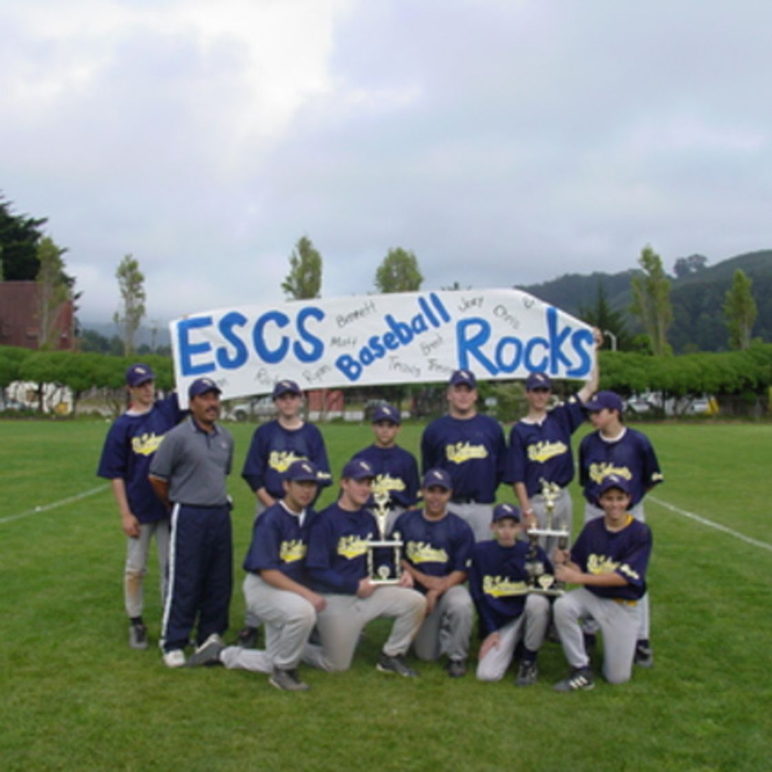 El Sobrante Christian School Photo - ESCHS 2005 Baseball -BACAL 2nd Place