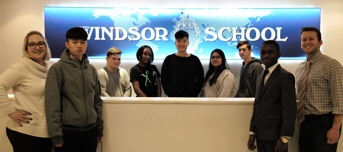 The Windsor School Photo - Our student body encompasses students from all over the globe. We enroll local and F-1 international students.