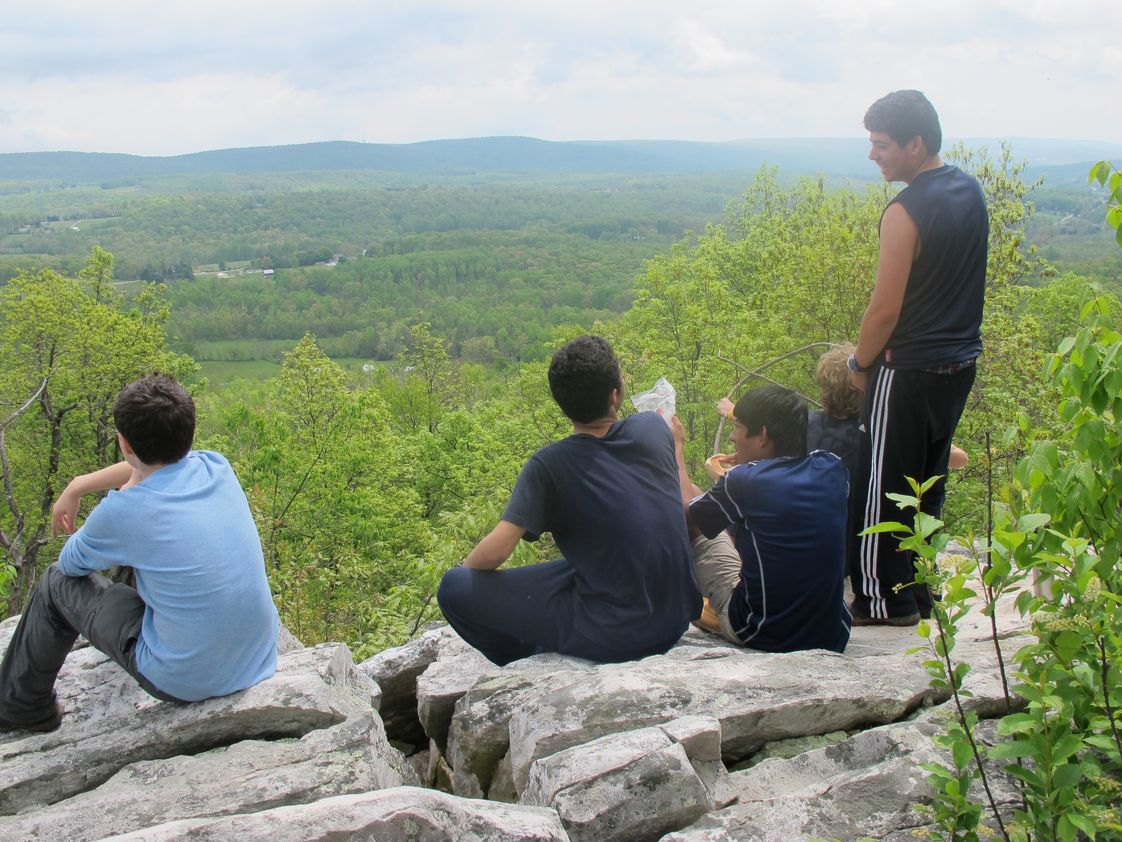 Winston Preparatory School NY Photo #1 - Seniors may participate in a variety of outdoor education adventures, including learning how to sail in the Caribbean Sea or hiking in the Appalachian Mountains.