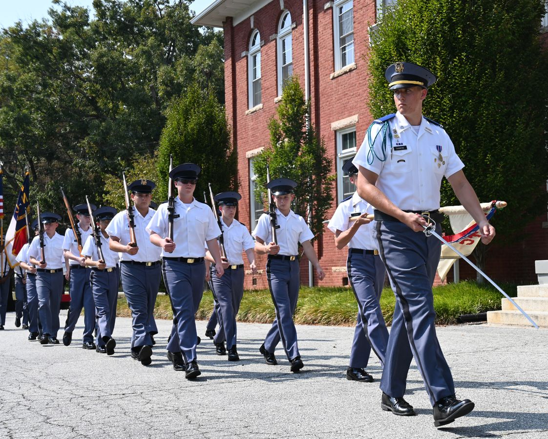 Oak Ridge Military Academy Photo - 2019 Homecoming March