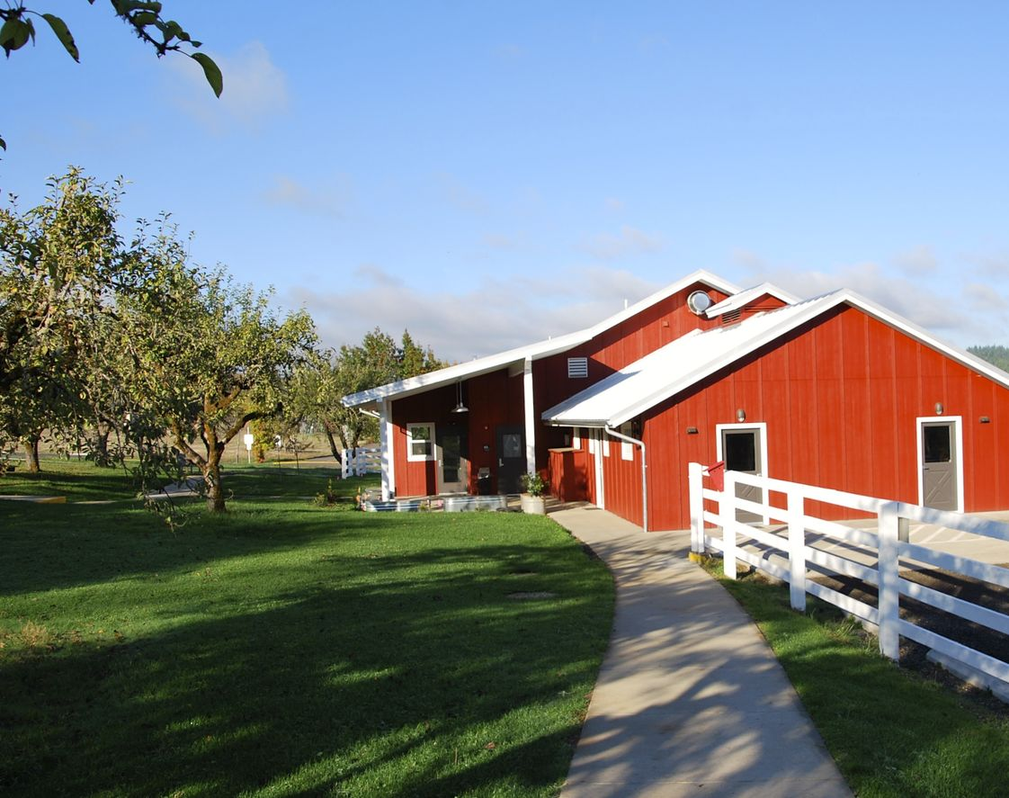 Oak Hill School Photo - The Art Barn