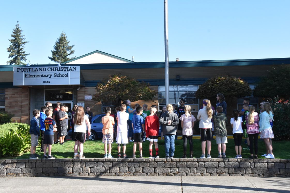 Portland Christian Elementary School Photo - Entrance to the ECE & Elementary Campus