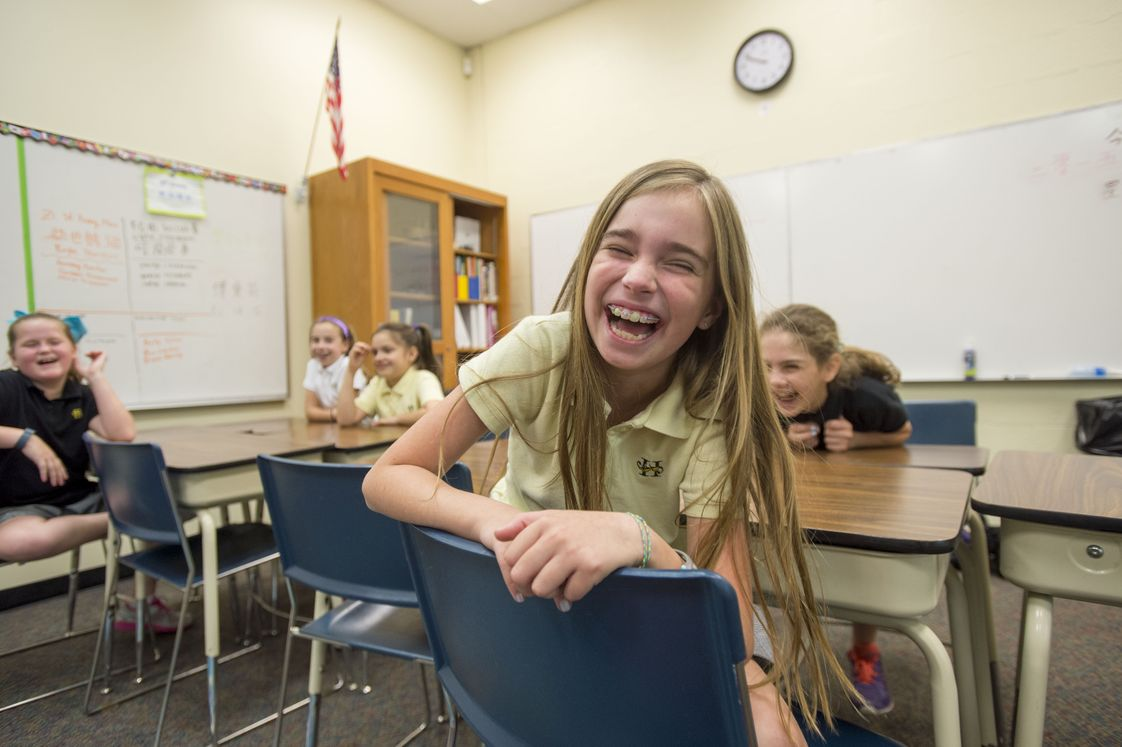 Hutchison School Photo - At Hutchison, girls discover the joy of learning.