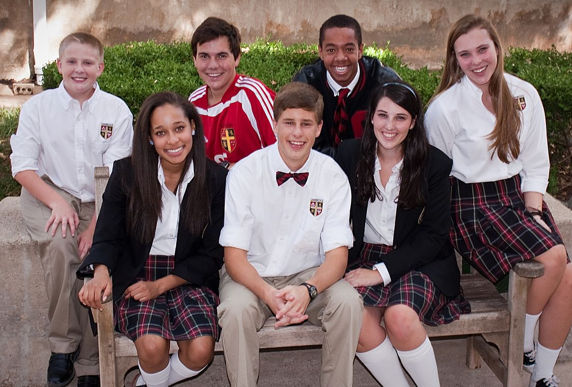The Cambridge School of Dallas Photo - Intentionally small class sizes create a tight-knit community and fosters mentoring relationships between grades.