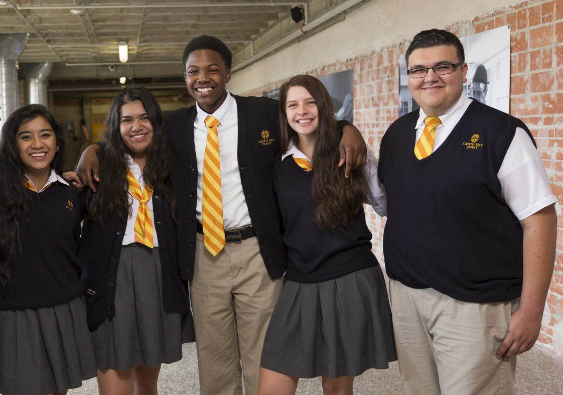 Cristo Rey Jesuit College Prep School Of Houston Photo - Cristo Rey Jesuit offers a balance of academics, religion, clubs, sports and fellowship!