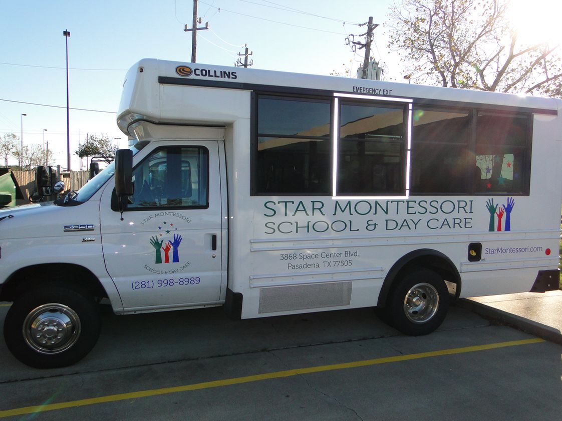 Star Montessori School Photo #1 - After-School and Field Trip Bus at Star Montessori School and Day Care