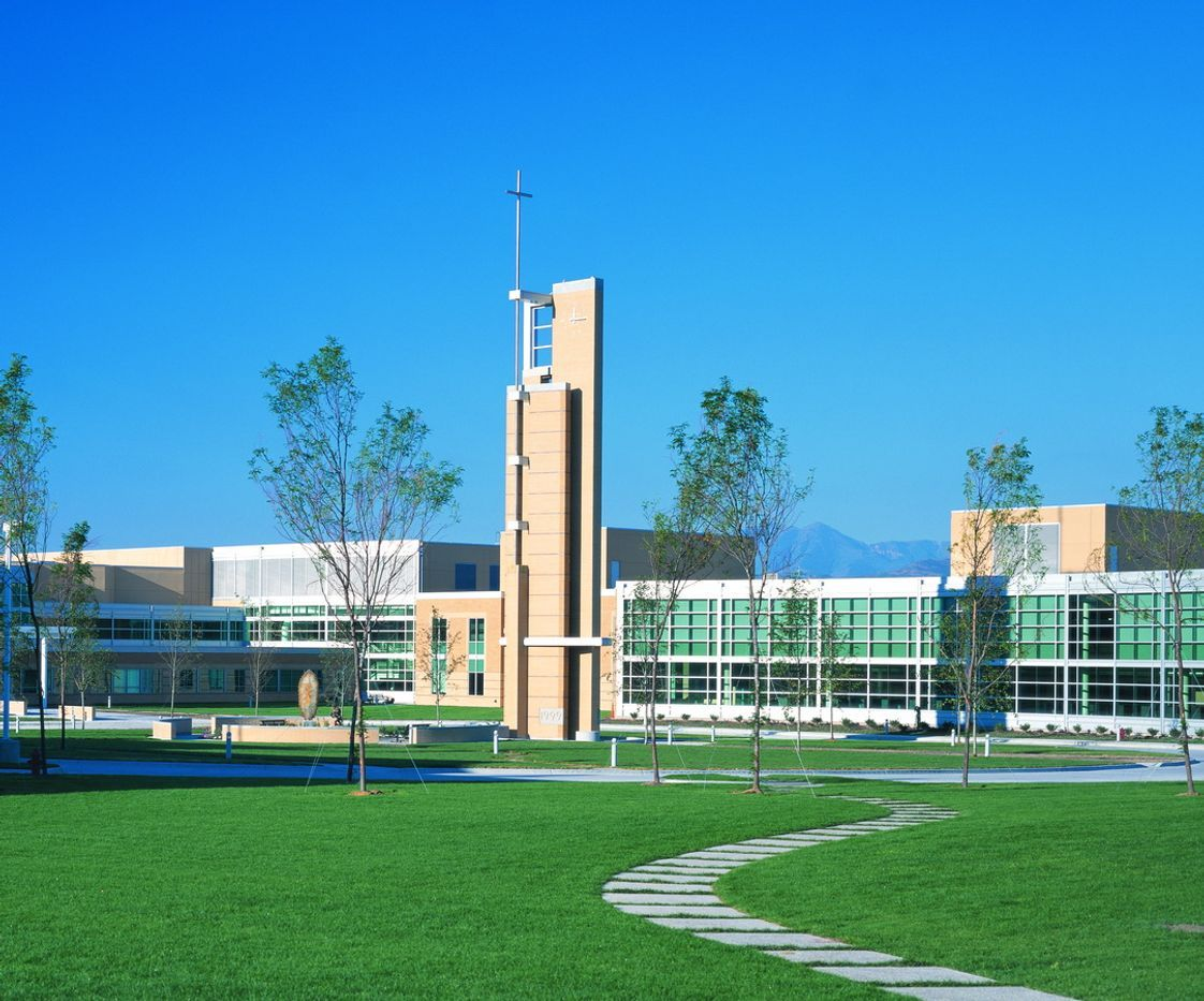 Juan Diego Catholic High School Photo - Juan Diego's 56 acre campus is 20 minutes from ski canyons and Salt Lake City.