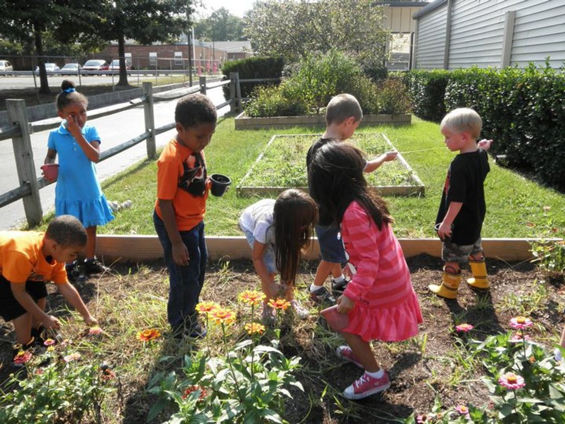 Central Christian Academy Photo #1 - Students can grow plants in our school garden.
