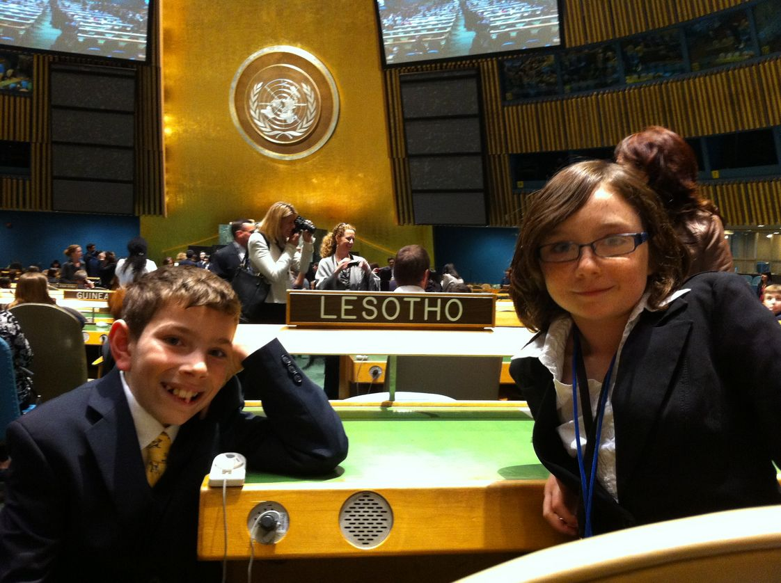 Montessori School Of Mclean Photo - Upper Elementary annually participates in the Montessori Model United Nations event in New York City