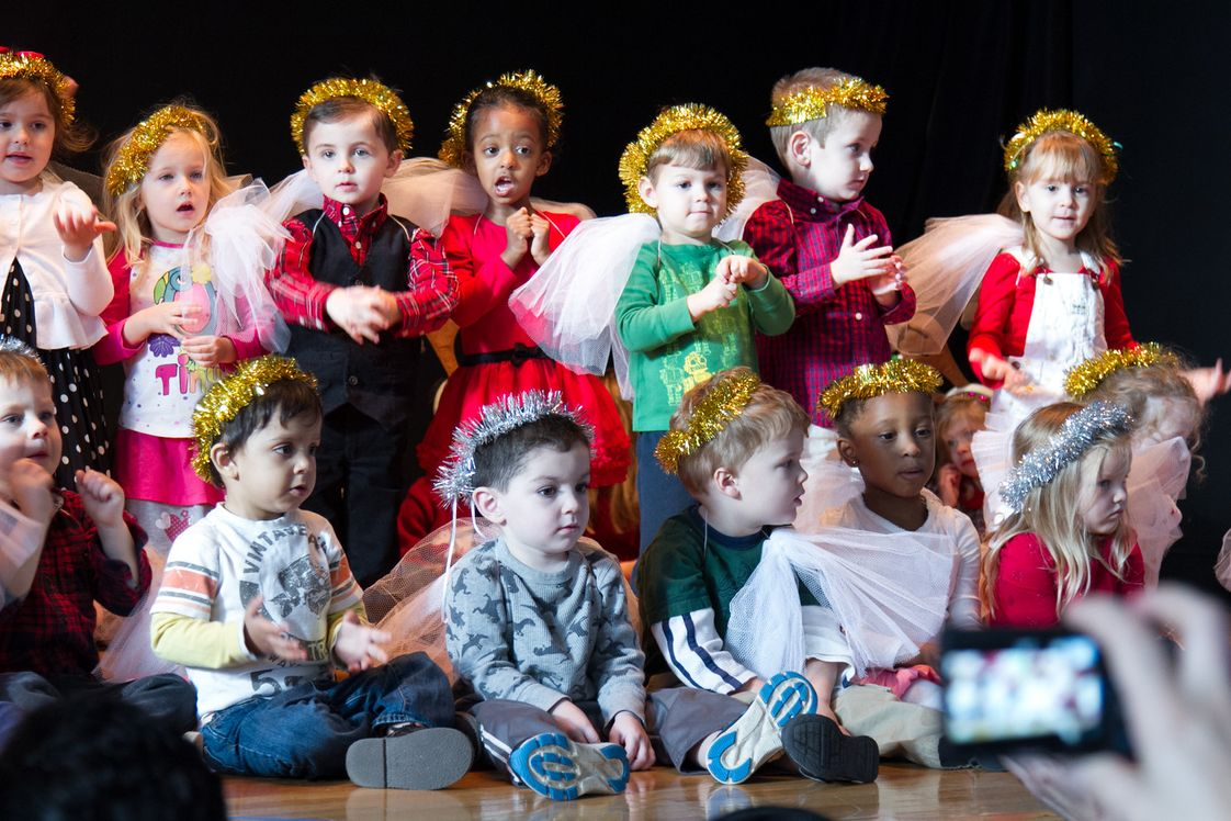 St. Charles School Photo #1 - St. Charles students perform in the annual Christmas Pageant.