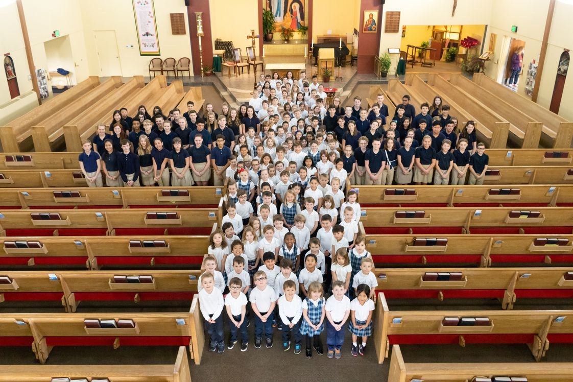 Our Lady Of Lourdes Catholic School Photo #1 - Students are well prepared for high school.
