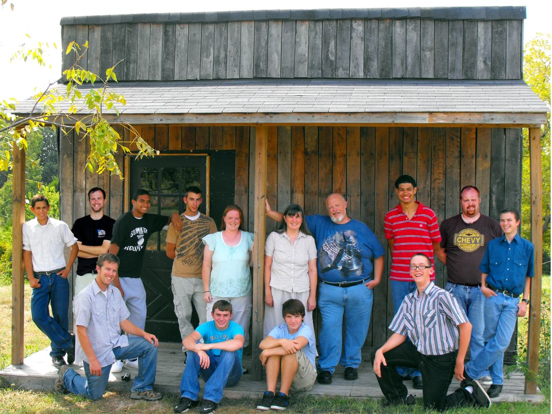 Teen Harvest Photo #1 - Boys and Staff