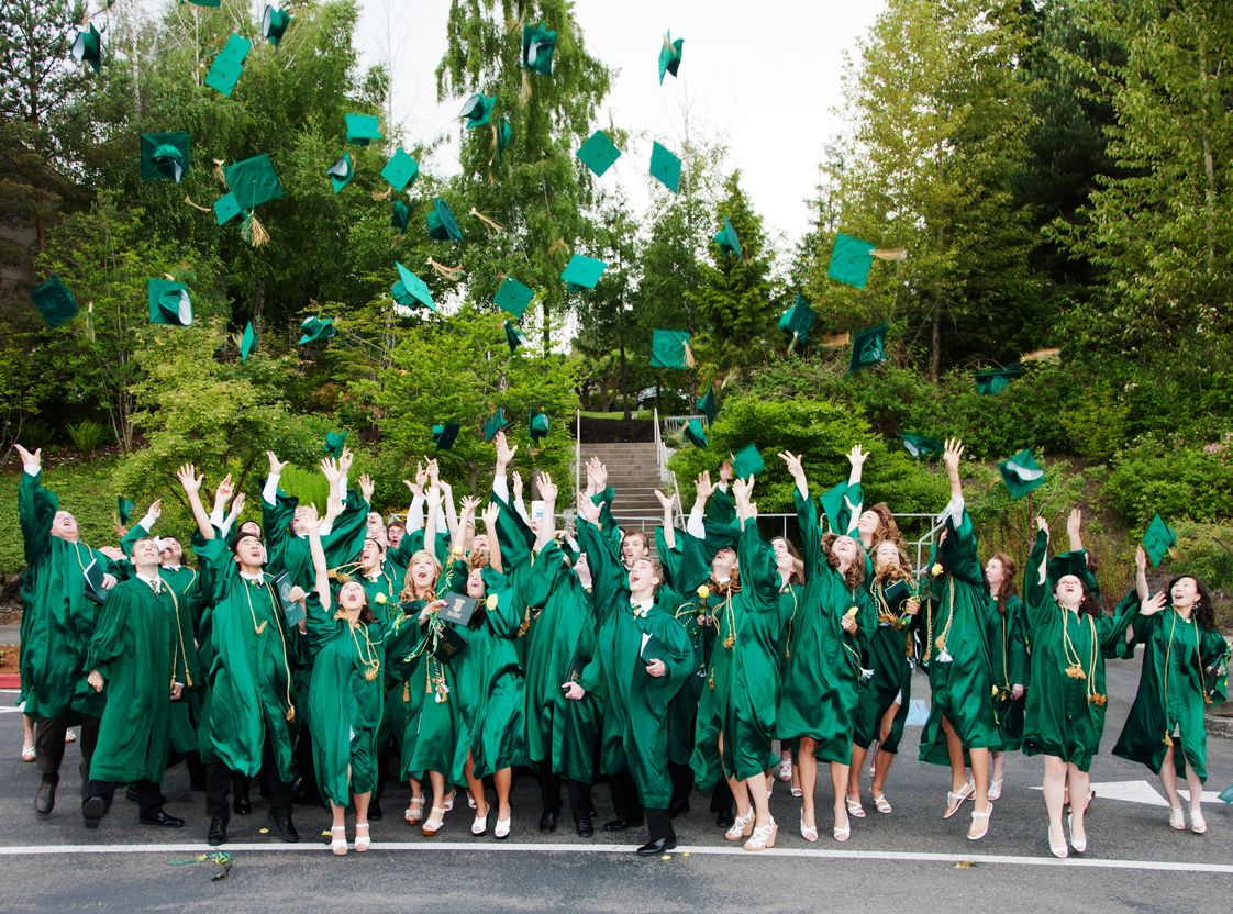 The Bear Creek School Photo - There are 45-70 graduates of The Bear Creek School each June.