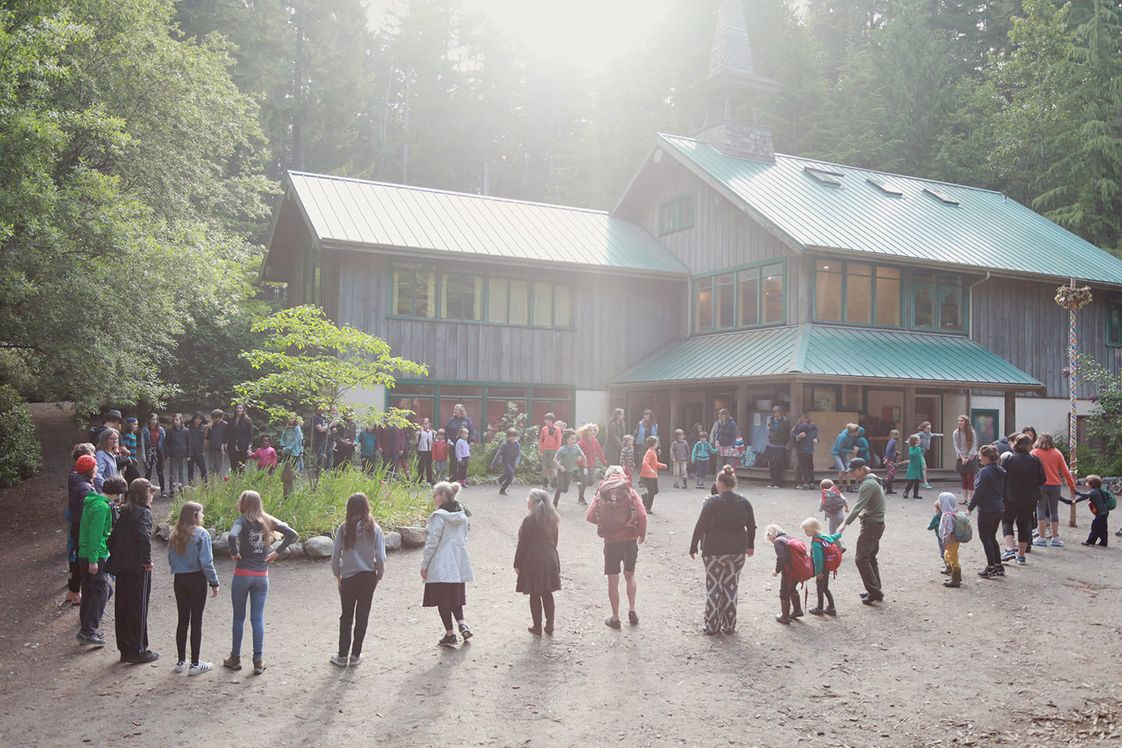 Whidbey Island Waldorf School Photo - Whidbey Island Waldorf School Morning Circle and Song together as a community