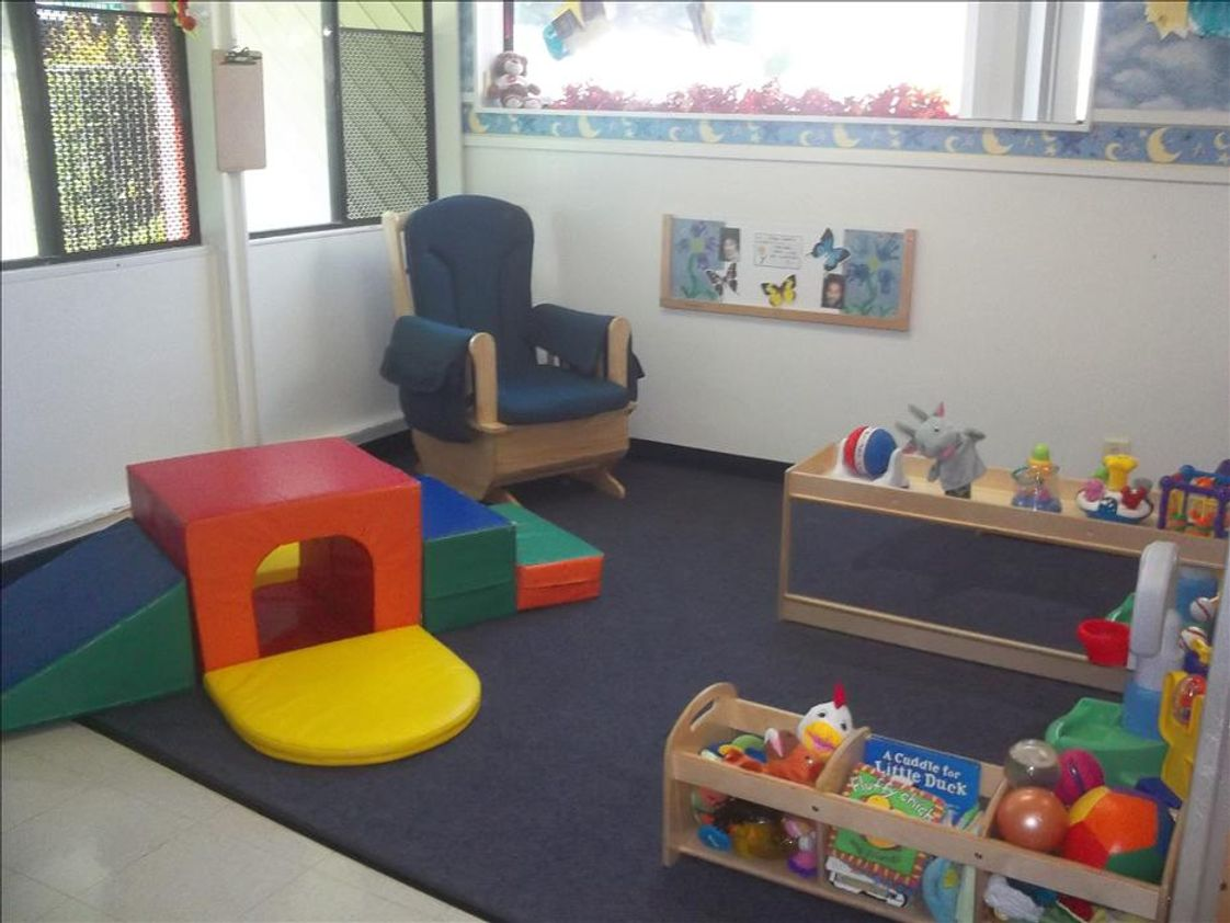 Cerritos KinderCare Photo #1 - Infant Classroom (Nursery One; Ms. Tina and Ms. Michelle)