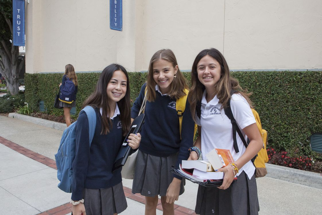 Marymount High School Los Angeles Photo #1 - Marymount is an independent, Catholic all-girls school that fosters confidence, joy, leadership, and a sense of greater purpose in each of our students. Marymount students come from over 86 Catholic, Independent and Public Schools covering 65 zip codes in the greater LA area. Representing 18 different faiths and religions, our young women are diverse, vibrant and thriving.
