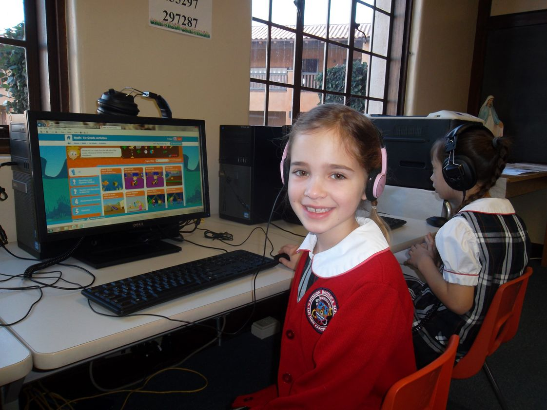 Mission Basilica School Photo #1 - MBS has two technology labs