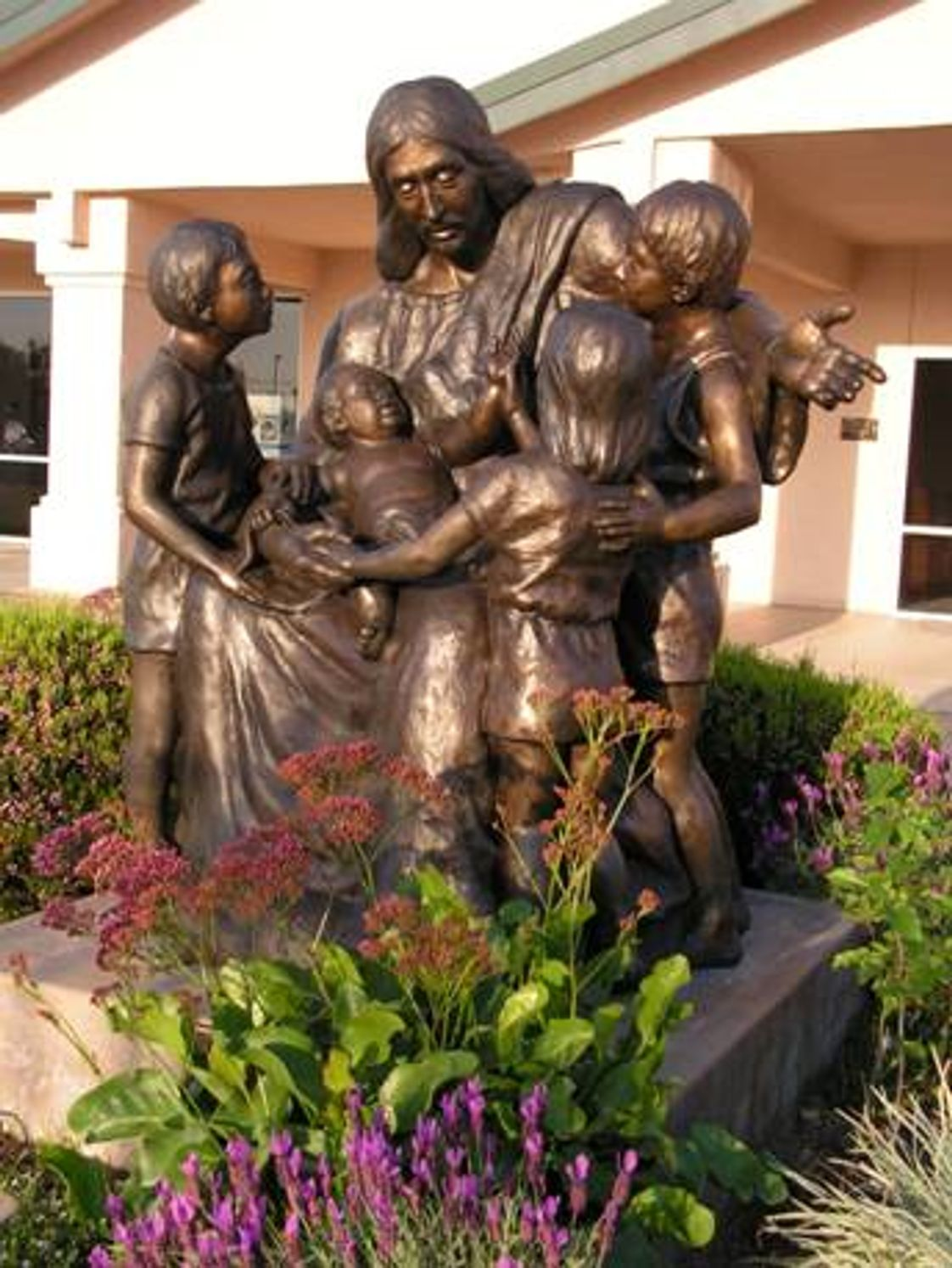 Central Valley Christian Academy Photo - MAA is dedicated to a Christ-like atmosphere. This sculpture reminds us of the influence Christ.