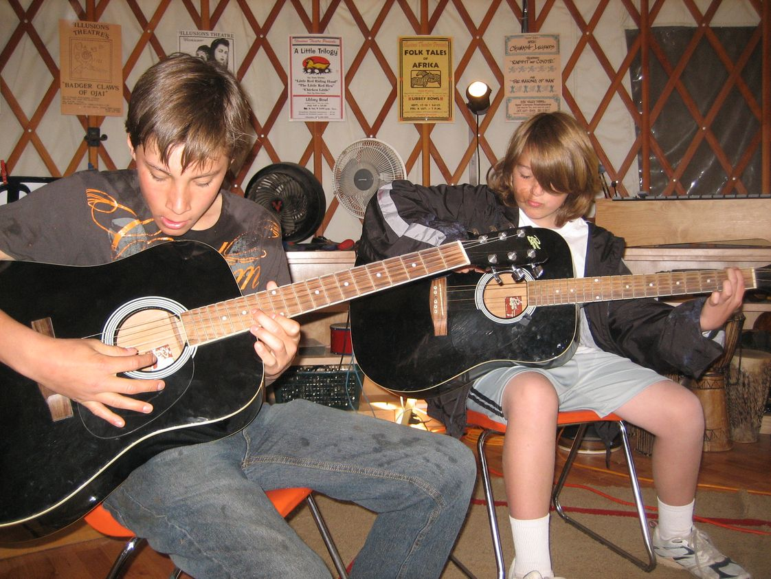 Montessori School Of Ojai Photo #1 - Curriculum includes music for all classrooms. Singing, listening, playing instruments and participating in musical presentations are all a part of the music program.