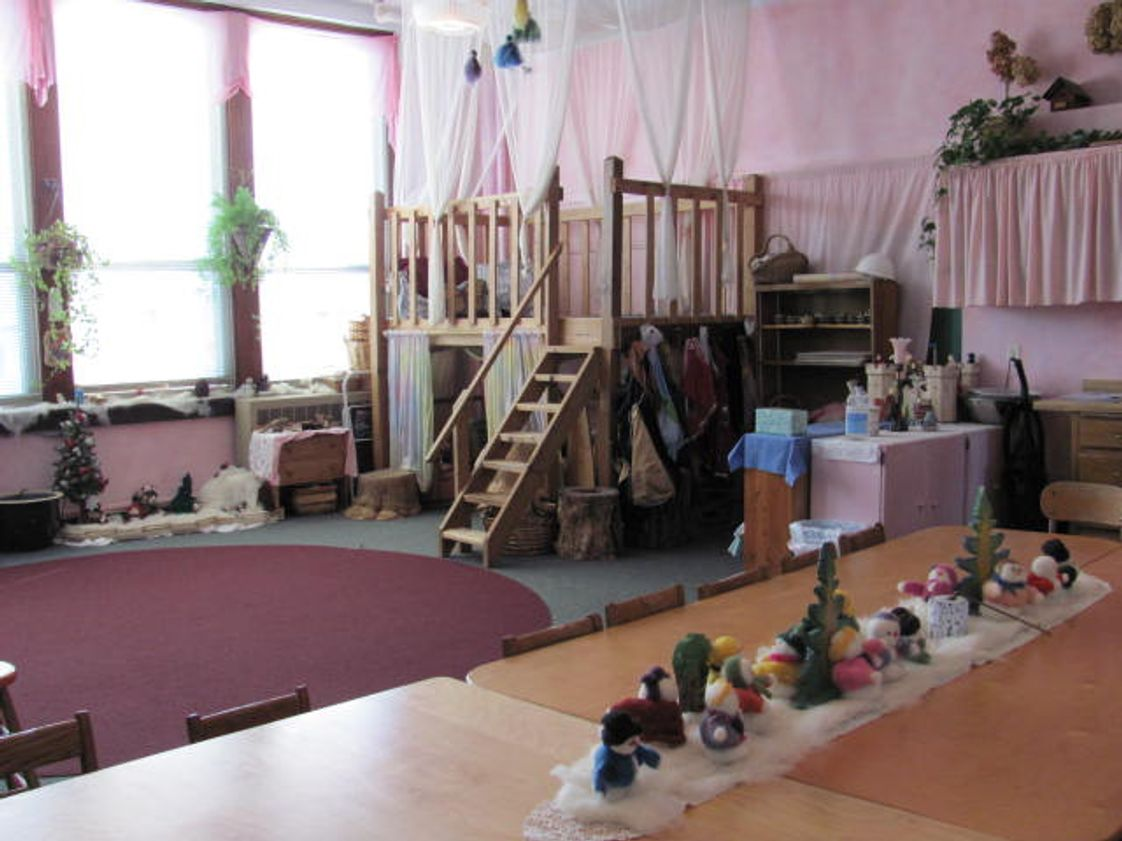 "Tamarack Waldorf School Photo #1 - The Kindergarten classroom is filled with natural materials and creative playthings to stimulate the imagination of the young child. In a Waldorf environment, a child's play is the child's ""work""."