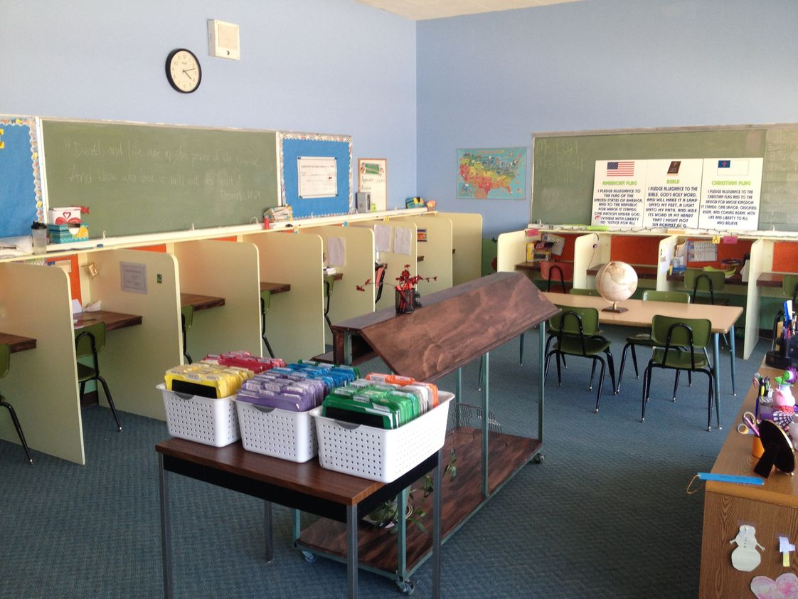 Destiny Christian Academy Photo #1 - Elementary Classroom