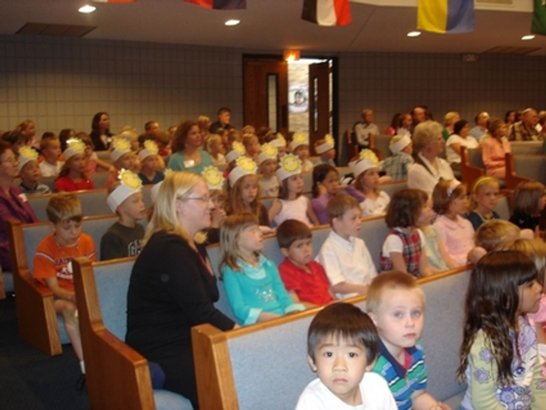 Christian Center Elementary School Photo #1 - Over 500 people attended the annual Grandparents' Day celebration in October 2007.