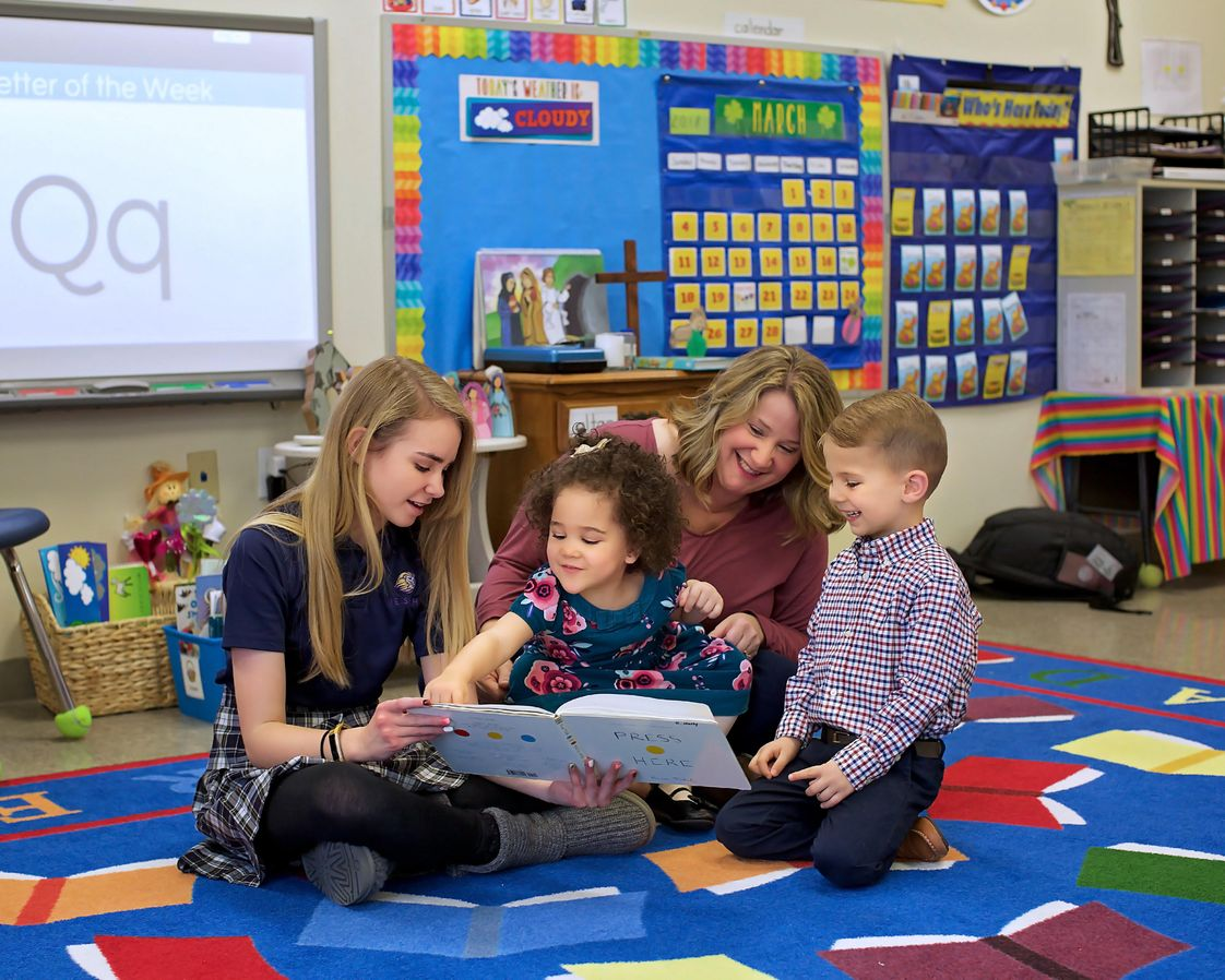 Messiah Lutheran School Photo - From preschool to middle school, we have spacious classrooms with up-to-date technology, and teachers who invest in their students. We foster relationship building in our school, and offer leadership opportunities for both our youngest and oldest learners alike.