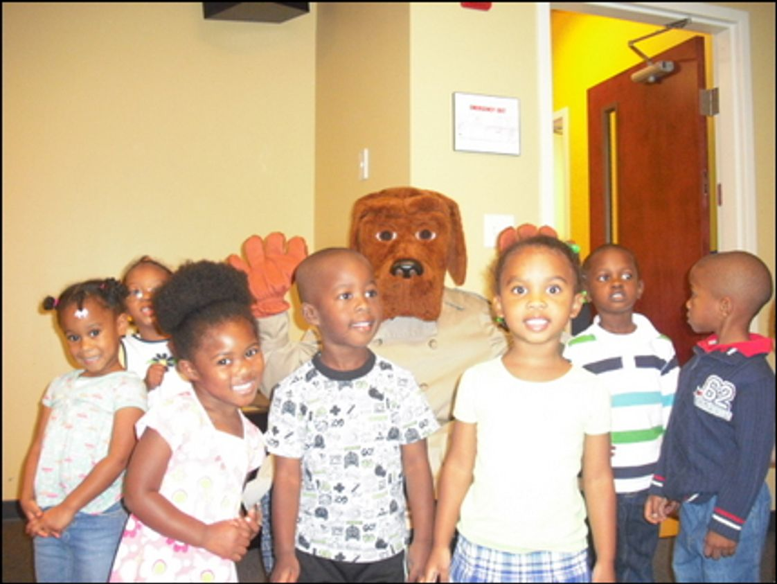 Eagle Academy Photo #1 - The PreK-3 class got a special visit from McGruff the Crime Dog who shared how to be safe.