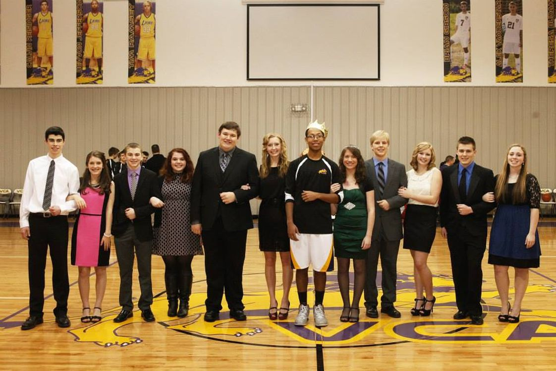 Victory Christian Academy Photo - 2014 VCA Homecoming Court!