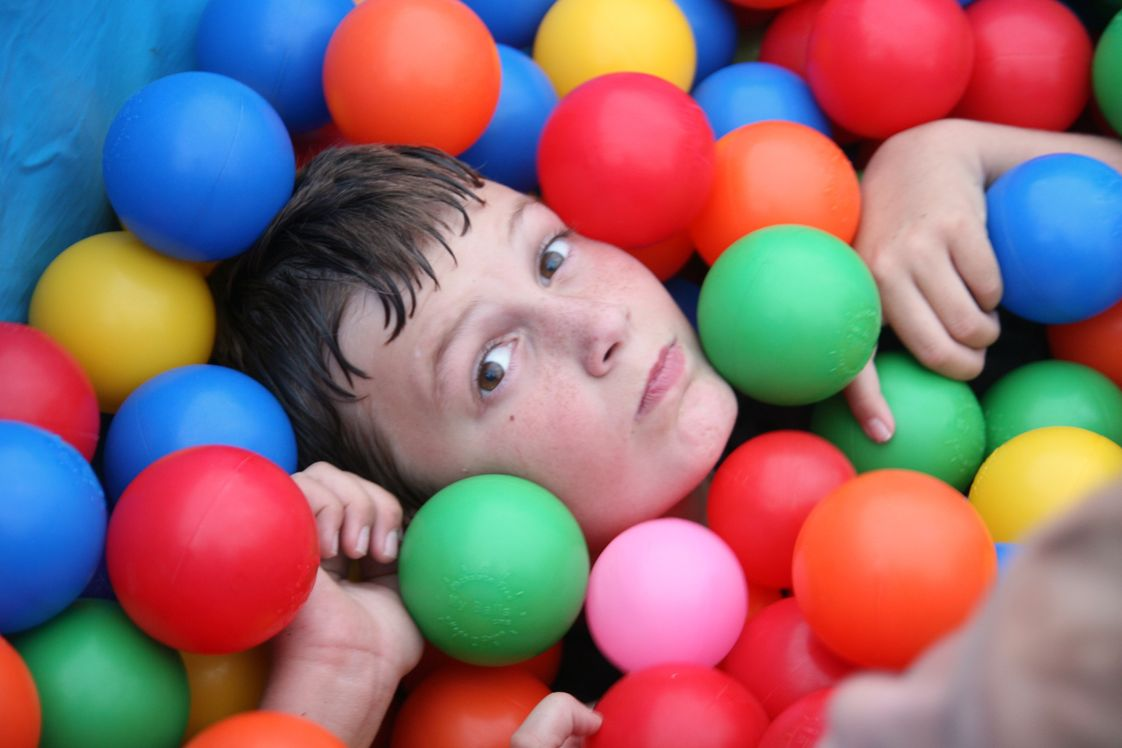 Grace Community School - Elementary Campus Photo #1 - Homecoming fun in the ball pit!