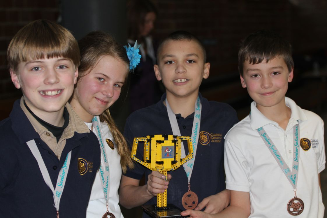 Classical Christian Academy Photo - Classical Christian Academy - Post Falls, Idaho - First Lego League Robotics Team