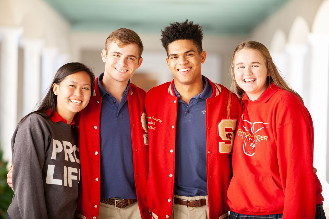 Bishop John J Snyder High School Photo - Be Your Best Self and come to Snyder! Learn more about who you are and who you want to be by exploring the many opportunities we offer.