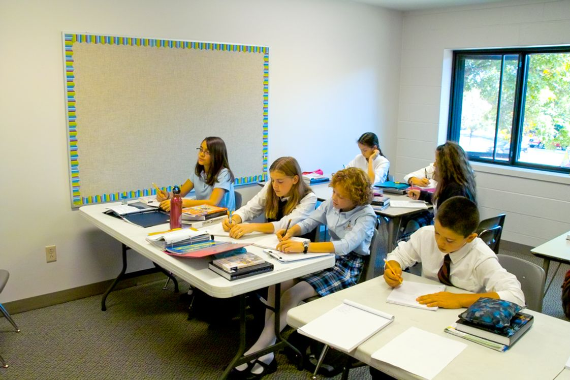 St Ambrose Academy Photo #1 - Small number of students per classroom.