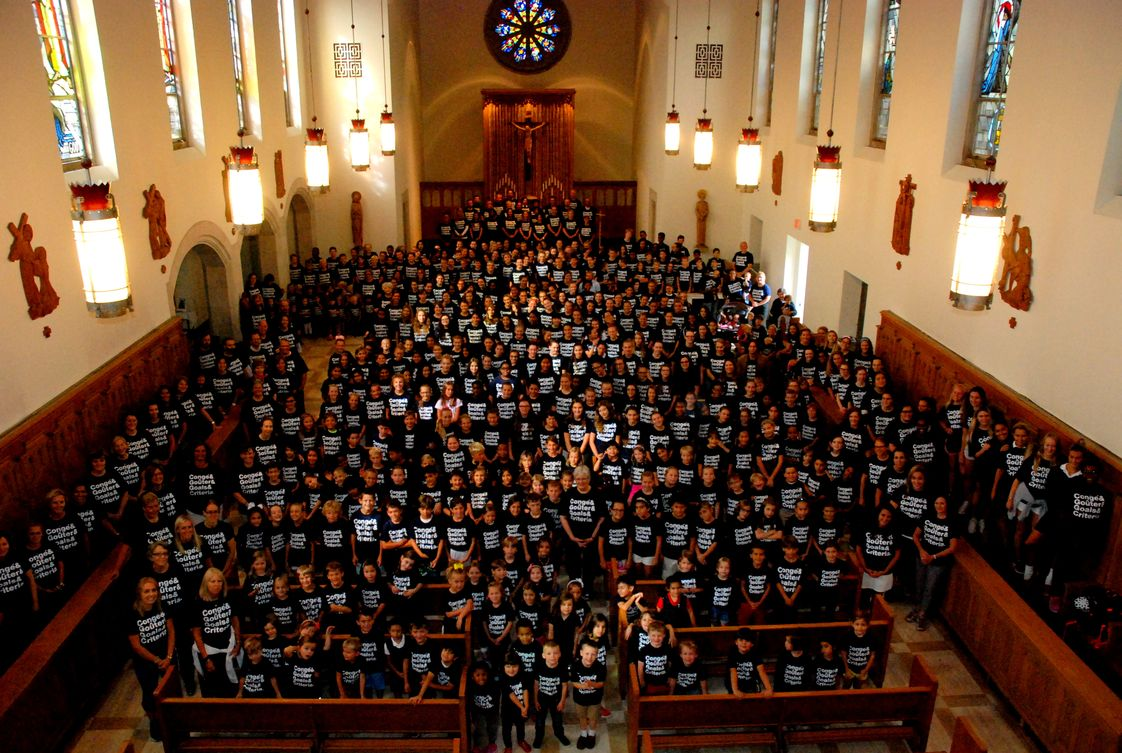 Academy Of The Sacred Heart Photo #1 - The school community gathers in the chapel to celebrate 165 years of Sacred Heart education in metro Detroit.