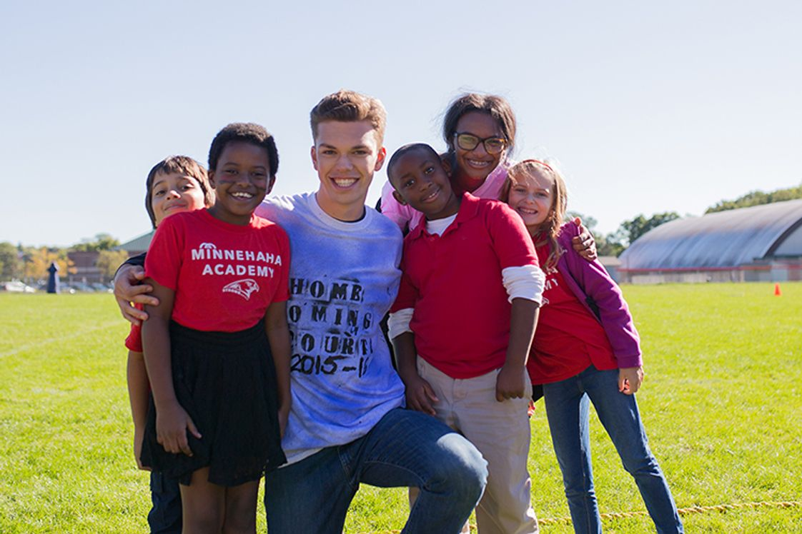 Minnehaha Academy Photo - Through innovative curriculum and engaging co-curricular activities at Minnehaha Academy, your child will grow as his or her potential is cultivated in a caring, nurturing environment guided by Christian role models.