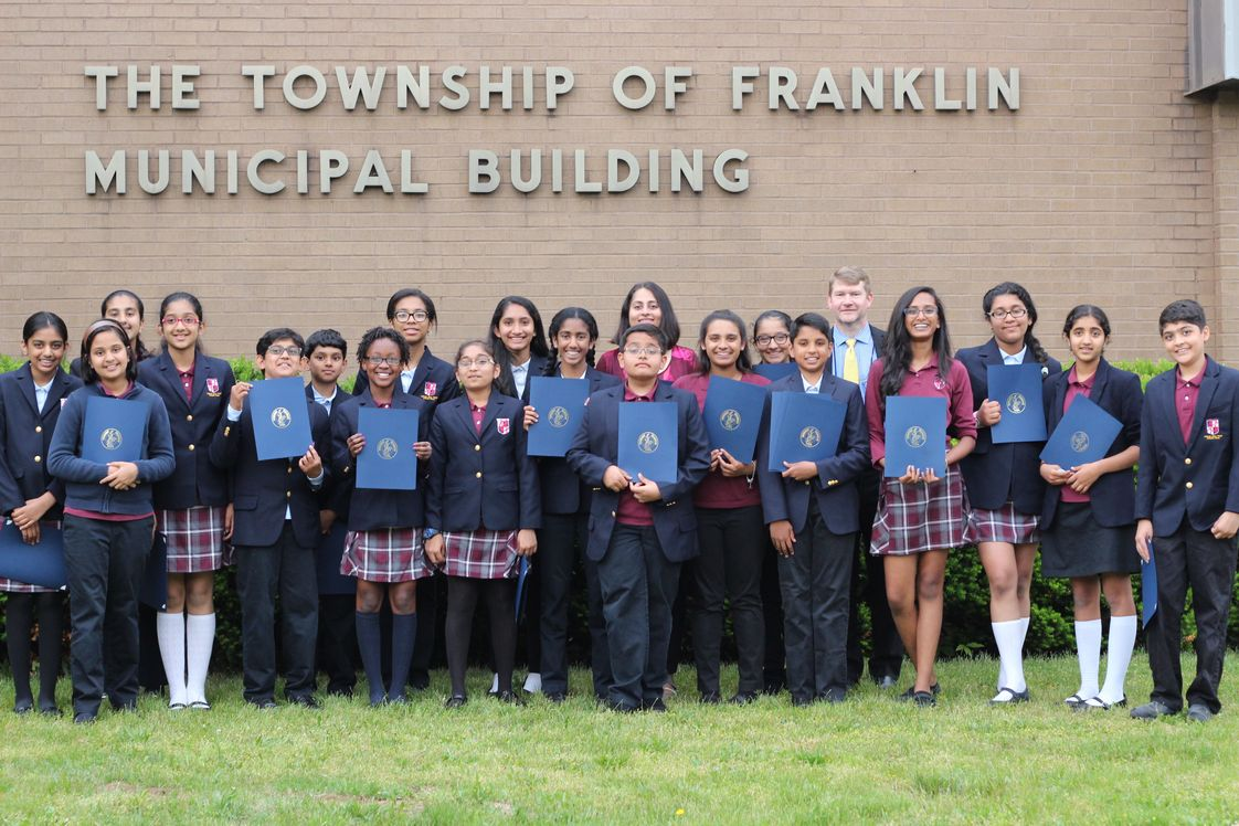 Cedar Hill Prep School Photo - CHP Debate Team Recognized at Franklin Township Council