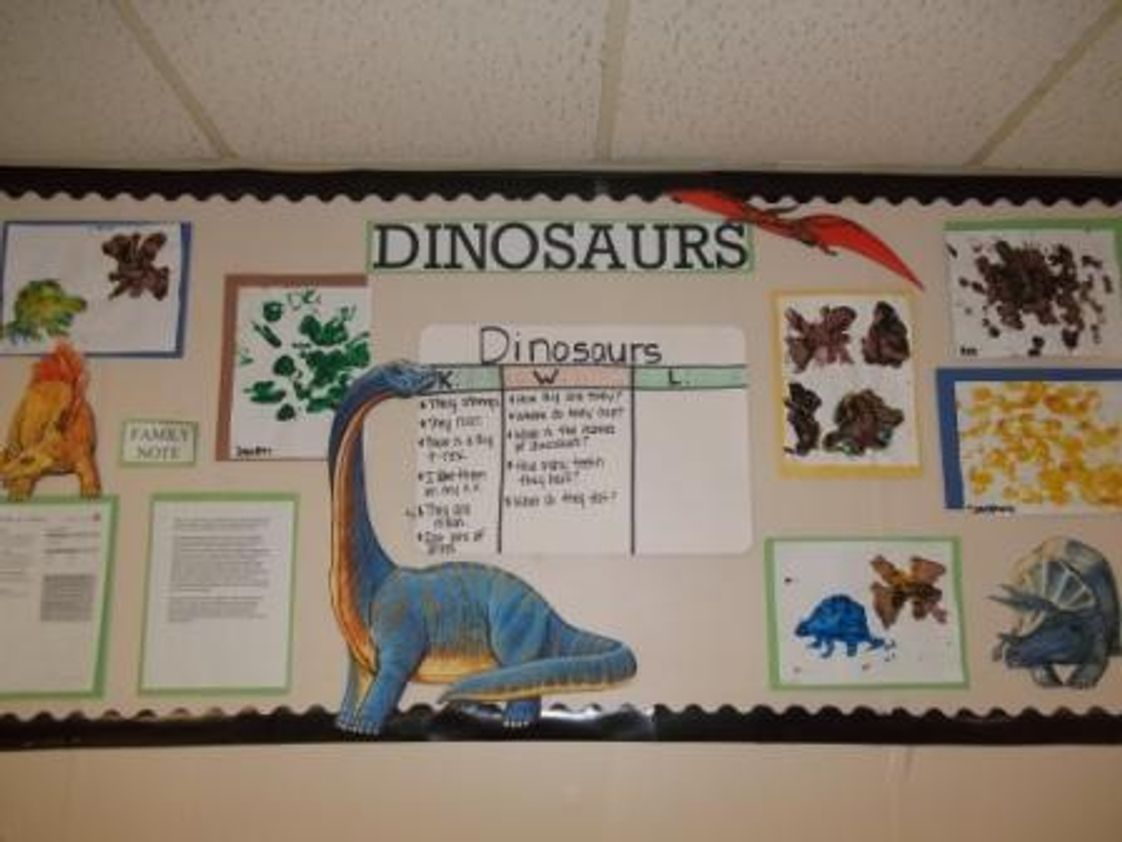 Johnson City KinderCare Photo - All About Dinosaurs