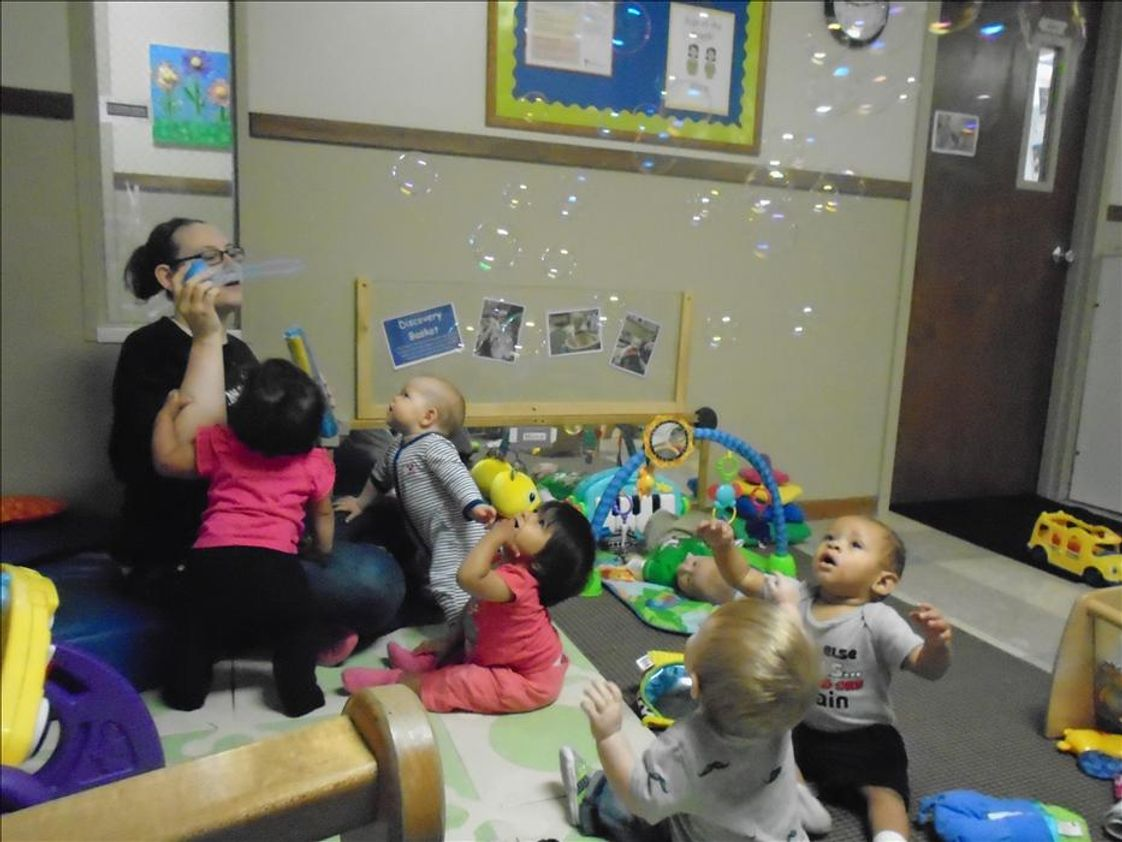 Rock Island KinderCare Photo #1 - Infant Classroom